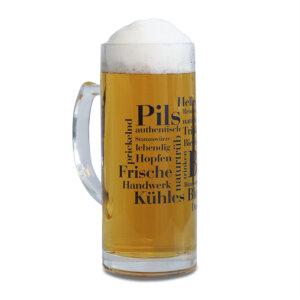 Der WOLL Bierkrug aus dem Sauerland.