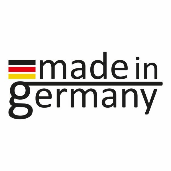 Die BONANZA® INDUCTION Schmorpfanne wird in Deutschland hergestellt.