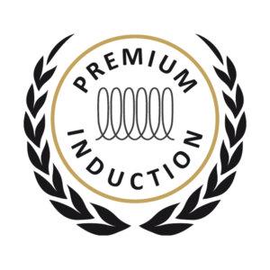 Die BONANZA® INDUCTION Schmorpfanne ist mit Premium Induction ausgezeichnet.