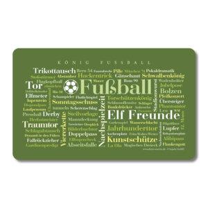 Die schönsten Wörter rund das Thema Fußball.