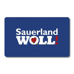 Eine originelle Geschenkidee für alle Liebhaber des Sauerlands,woll!