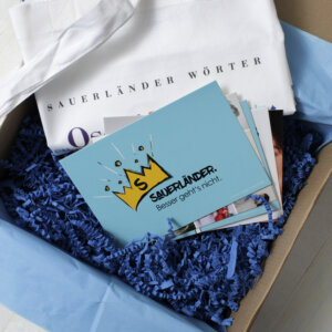 Die Sauerländer Lebensart vereint in einer Geschenkbox.