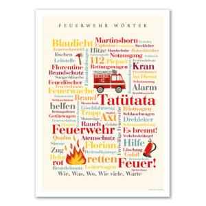 Geschenkidee für Feuerwehrmann