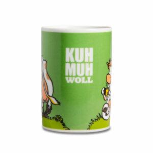 Die Kaffeetasse Kuh Muh WOLL.