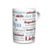 Kaffeebecher mit den schönsten Opa Wörtern.