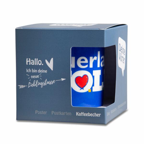 Kaffeebecher Tasse Sauerland,WOLL - Mit Verpackung