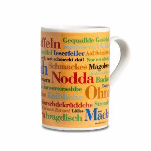 Kaffeebecher Tasse Siegerländer Wörter Henkel recht