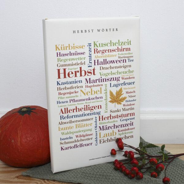 Eine schöne Geschenkidee für alle Herbstliebhaber