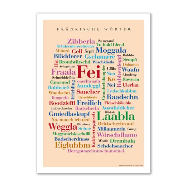 Tauche ab in die Welt der Franken und genieße linguistische Sprachperlen der ganz besonderen Art.