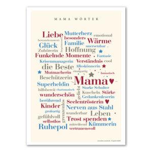 Die schönsten Wörter aus dem Leben einer Mama.