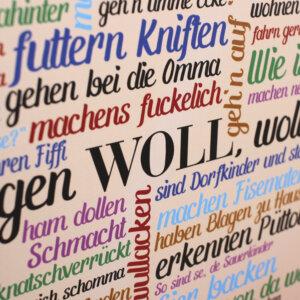 Die schönsten und skurrilsten Eigenarten der Sauerländer auf einem Poster vereint: So sind se die Sauerländer.