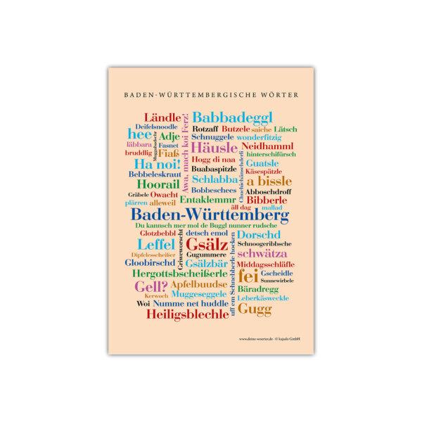 Die schönsten Wörter aus deiner Region Baden-Württemberg.