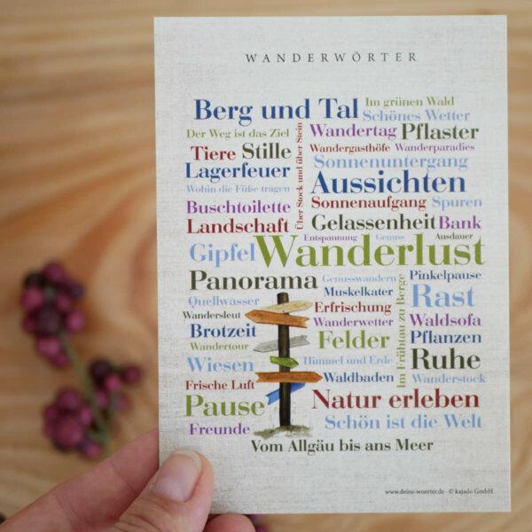 Geschenkideen für Freundes des Wanderns