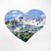 Das wunderschön illustrierte Sauerland Panorama als 110 teiliges Puzzle.