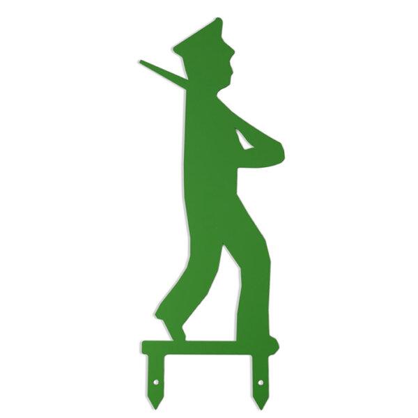 Das große Schützenfest-Männchen mit Mütze.