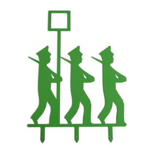 Die Schützenfest-Männchen mit Hut für den Garten.