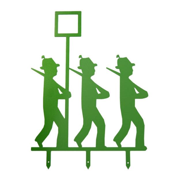 Die Schützenfest-Männchen Gruppe mit Mütze.