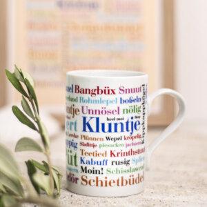Tasse mit der Ostfriesischen Sprache.