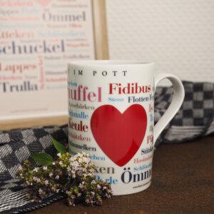 Tasse / Kaffeebecher Ruhrpott Kosewörter Dekoration.
