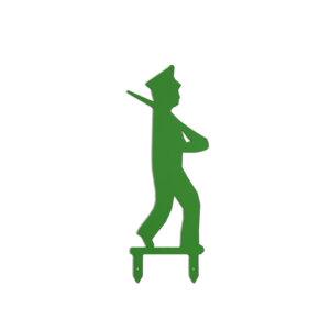 Schützenfest-Männchen mit Mütze.